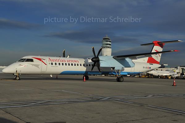 2012-01-18 OE-LGN Dash8-400 Austrian Airlines