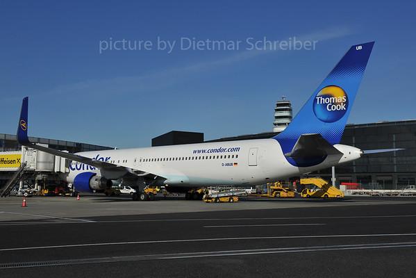2012-01-18 D-ABUB Boeing 767-300 Condor