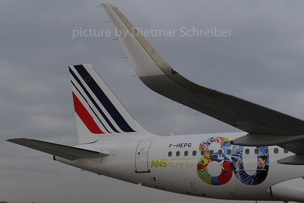 2013-12-05 F-HEPG Airbus A320 Air France