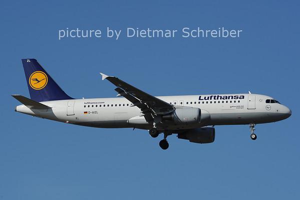 2014-02-28 D-AIZL Airbus A320 Lufthansa