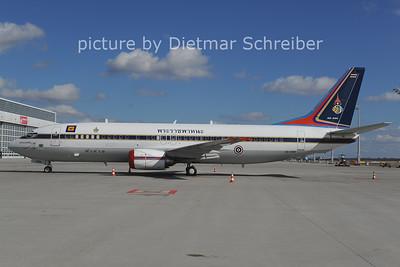 2014-02-28 HS-CMV Boeing 737-400 Royal Thai Air Force