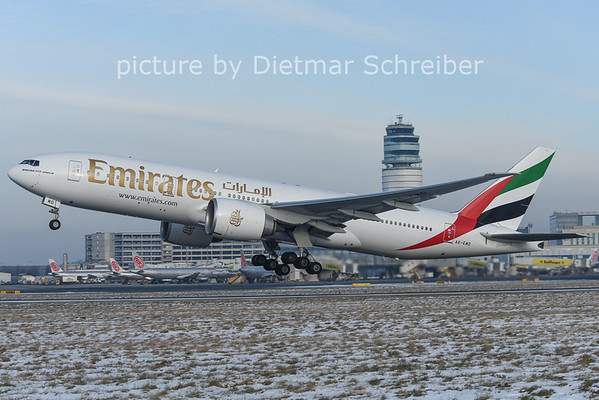 2014-12-31 A6-EWD Boeing 777-200 Emirates