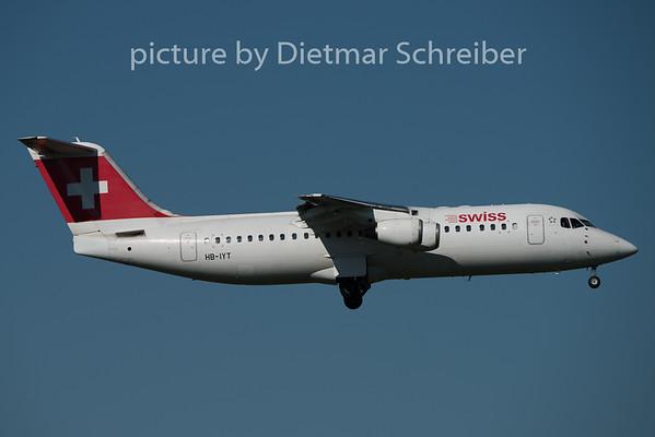 2015-08-29 HB-IYT Bae 146 Swiss