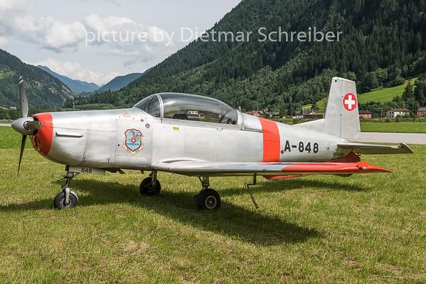 2015-06-25 N848AD Pilatus P3