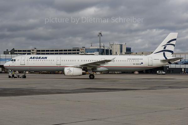 2016-12-26 SX-DVO Airbus A321 Aegean Airlines