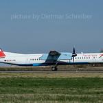 2017-03-31 OE-LGE Dash 8-400 Austrian Airlines