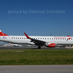 2017-06-09 OE-LWK Embraer 195 Austrian Airlines