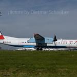 2017-04-25 OE-LGE Dash 8-400 Austrian Airlines