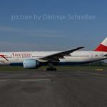 2017-04-25 OE-LPC Boeing 777-200 Austrian Airlines