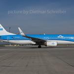 2017-04-25 PH-BXD Boeing 737-800 KLM