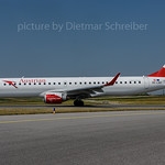 2017-06-21 OE-LWE Embraer 195 Austrian Airlines