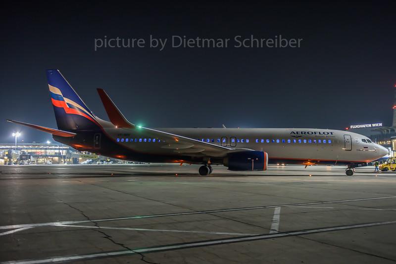2017-01-22 VP-BRF Boeing 737-800 Aeroflot
