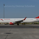 2017-06-22 OE-LWK Embraer 190 Austrian Airlines