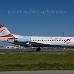 2017-06-09 OE-LFI Fokker 70 Austrian Airlines