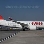 2017-04-04 HB-JBA Bombardier CS100 Swiss