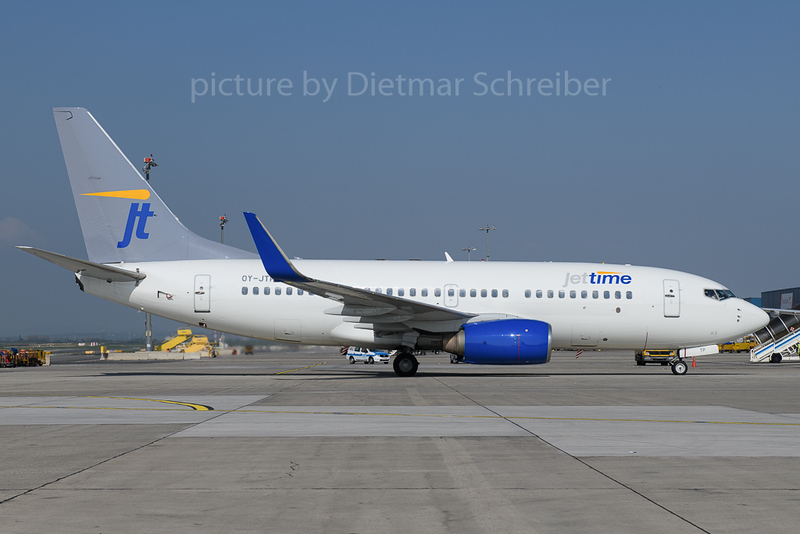 2018-04-18 OY-JTP Boeing 737-700 Jettime