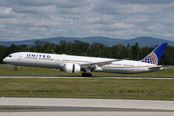 2019-05-31 N12005 Boeing 787-10 United Airlines