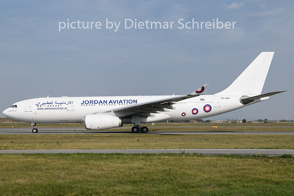 2019-08-29 JY.JVA Airbus A330-200 Jordan Aviation