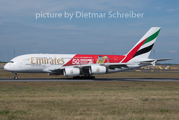 2019-08-06 A6-EEV Airbus A380 Emirates