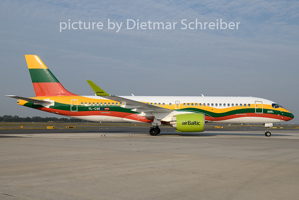 2019-08-29 YL-CSK CS300 Air Baltic