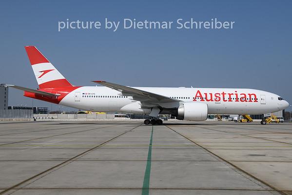 2019-04-01 OE-LPA Boeing 777-200 Austrian Airlines