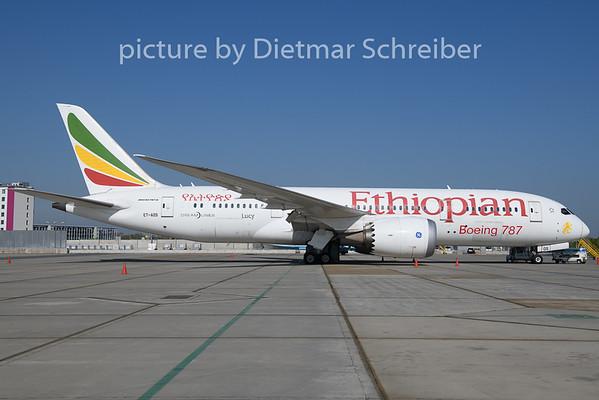 2019-04-18 ET-AOS Boeing 787-8 Ethiopian Airlines