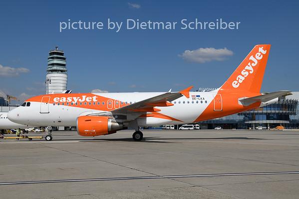 2019-04-18 OE-LKA Airbus A319 Easyjet Europe