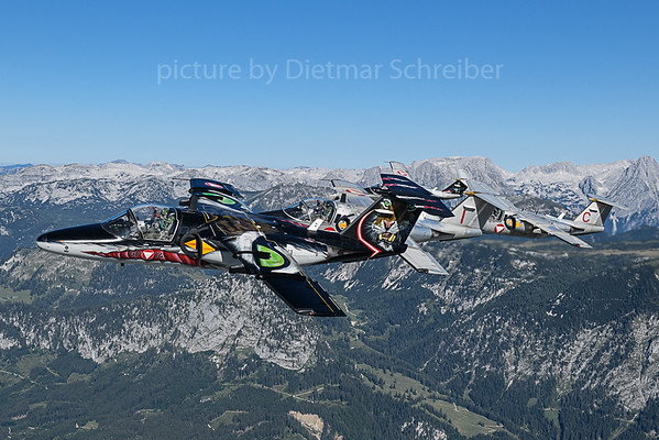 2019-09-04 Saab 105 Austrian Air Force