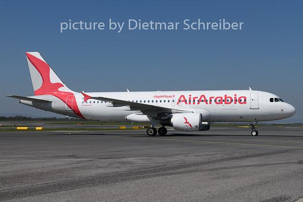 2019-04-18 CN-NMF Airbus A320 Air Arabia Maroc