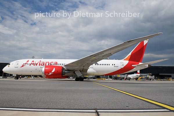 2020-06-19 N782AV Boeing 787-8 Avianca