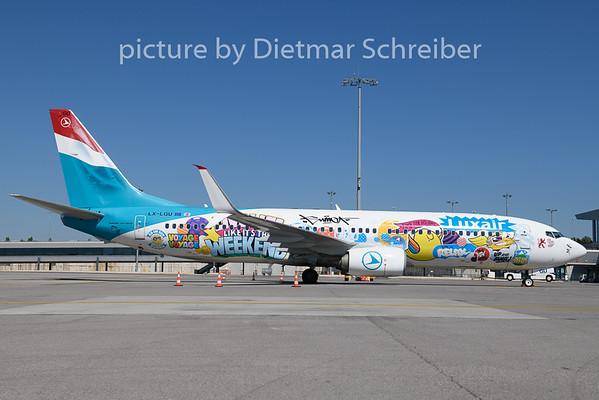 2020-08-07 LX-LGU Boeing 737-800 Luxair