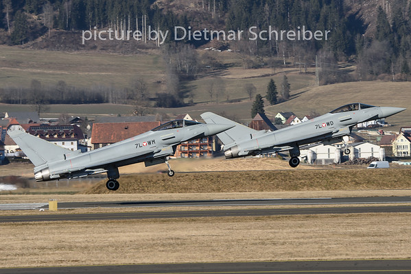 2020-01-21 7L-WD / 7L-WM Eurofighter Austrian Air Force