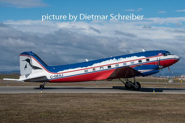 2020-02-14 C-GEAJ Douglas DC3 / Basler BT67