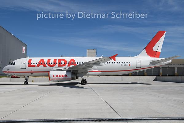 2020-08-28 9H-LMG Airbus A320 Lauda Europe