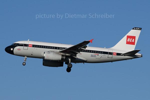 2020-01-19 G-EUPJ Airbus A319 British AIrways