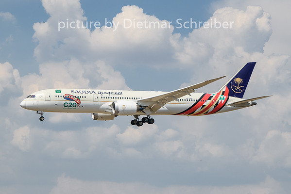 2020-08-09 HZ-ARF Boeing 787-9 Saudia