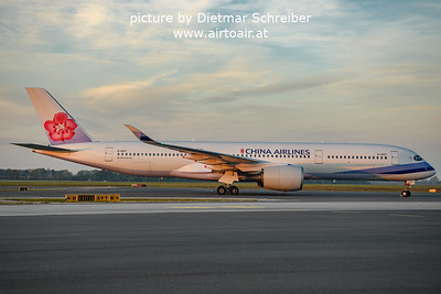2021-10-21 B-18917 Airbus A350-900 China Airlines