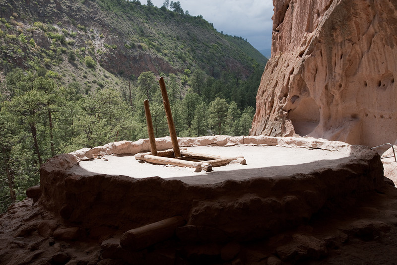 Reconstructed Kiva, Bandelier National Monument