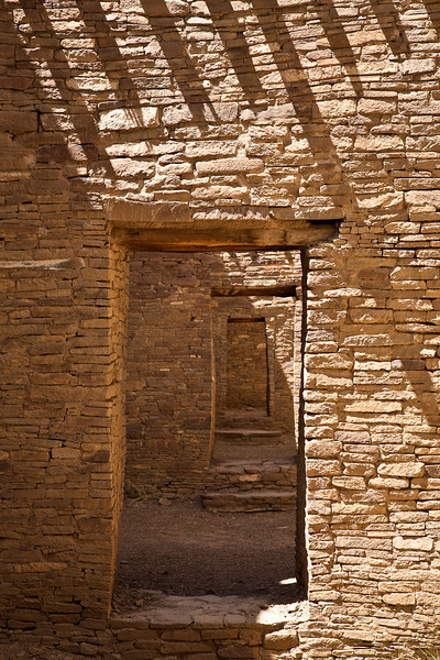 Doorways, Pueblo Bonito, Chaco Culture National Historical Park