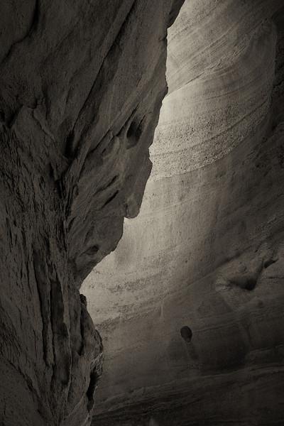 Slot Canyon, Kasha-Katuwe Tent Rocks National Monument