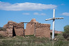 Ruins of Santa Rosa de Lima, Abiquiu. Built in 1744.
