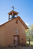 The old church at Ojo Caliente, built around 1820 and abandoned in 1930.