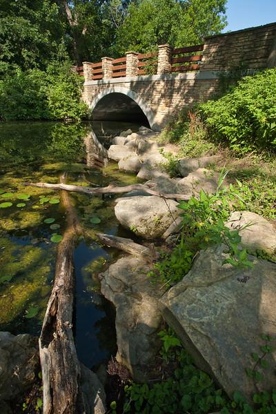Wingra Creek Bridge at Arboretum Drive