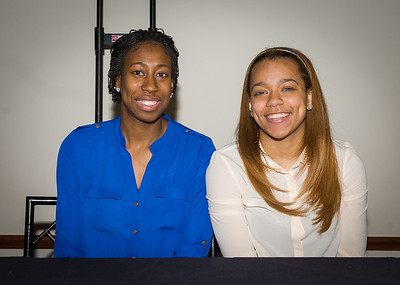 Jasmine Penny and Brittany Hrynko; DePaul University.