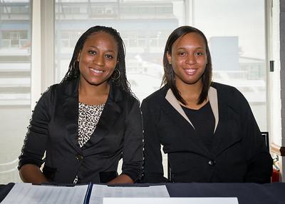 Samisha Powell, Andrea White; Georgetown University.