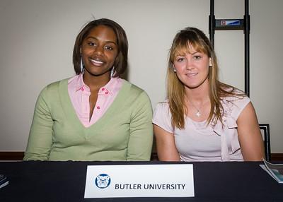 Daress McClung and Mandy McDivitt; Butler University.