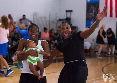 Kellindra Zackery NYWAL Invitation Tournament: Third Place Game: Havoc (Grey) 50 v. NYC Gay Basketball League (Blue) 49, Alfred E. Smith Recreation Center, New York, NY. August 25, 2012.