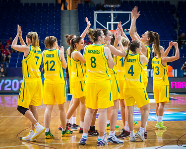 (2014 FIBA World Championship for Women: Quarterfinals:  Australia 63 vs Canada 52, Fenerbahçe Arena, Istanbul, Turkey, October 3, 2014)