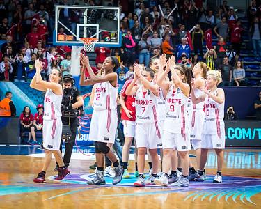 (2014 FIBA World Championship for Women: Quarterfinals:  Turkey 61 vs Serbia 62, Fenerbahçe Arena, Istanbul, Turkey, October 3, 2014)