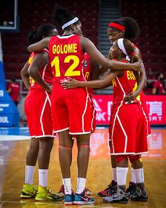 (2014 FIBA World Championship for Women: Group Phase - Group D - USA 119 vs Angola 44, Abdi İpekçi Arena, Istanbul, Turkey, September 30, 2014)